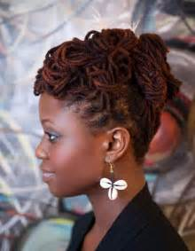 pictures of locked hairstyles loc updos for locks loc hairstyle read more