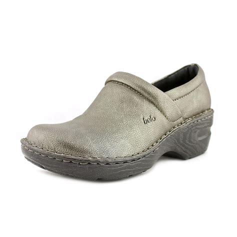 bolo shoes bolo andria us 8 5 gray clogs ebay