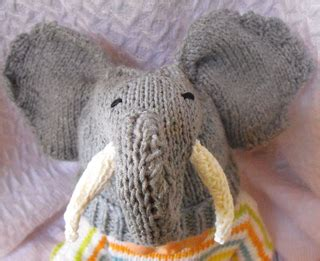 Baby Elephant Ears Luxe Edition 7 Motif ravelry baby big ears elephant hat pattern by christine grant