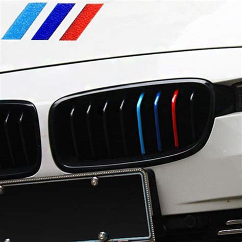 Sticker Mobil Bmw E30 high quality front grille car decal stickers for bmw m3 m5