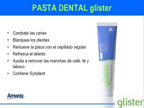 Pasta Gigi Glister Amway creme dental glister 6x1 produto importado usa amway r