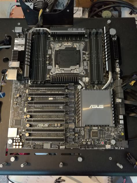 Heatsink Asus X550 asus x99 e 10g ws motherboard launched dual 10gbase t
