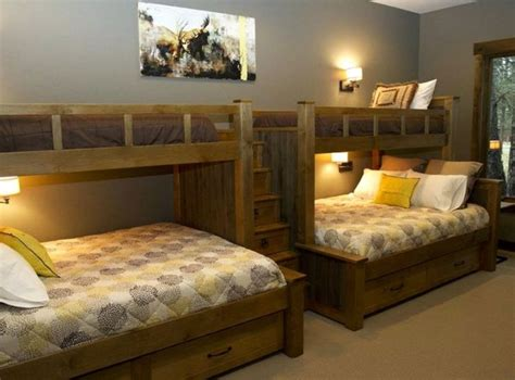Pictures Of Bunk Beds Built In by Built In Bunk Beds Ideas To Make An Enjoyable Bedroom Design