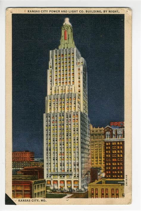 kansas city power and light company kansas city power and light co building by the