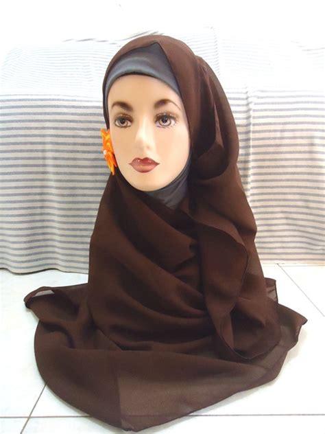Jilbab Sifon Tumpuk Murah Jilbab Sifon Terbaru Dan Murah Butik Hanun