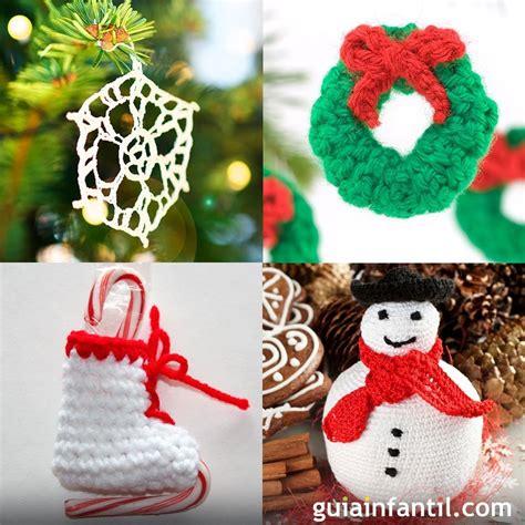 ideas navidad 12 ideas de adornos de crochet para el 225 rbol de navidad