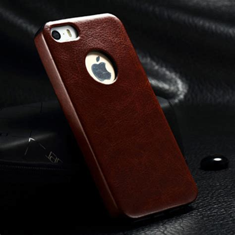 Iphone 5 5g 5s Leather Cover Retro Soft Bumper Armor Mewah popular armor buy cheap armor lots from china armor suppliers on aliexpress