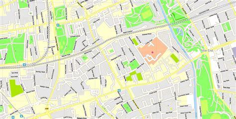 printable street maps uk london center map england uk printable vector map adobe