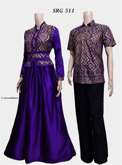 Batik Gamis Batik Sarimbit Velvet Srg 356 harga baju batik sarimbit gamis terbaru 2017 srg 511
