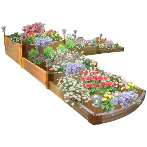 Frame It All One Inch Series 12 Ft X 12 Ft X 22 In Frame It All Raised Garden Bed