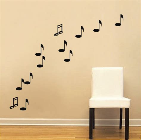 notes wall stickers note wall decals trendy wall designs