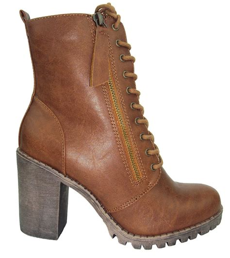 high heeled army boots soda high heel combat army boots