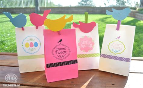 Craft Ideas With Paper Bags - and easter paper bag printing ideas with free