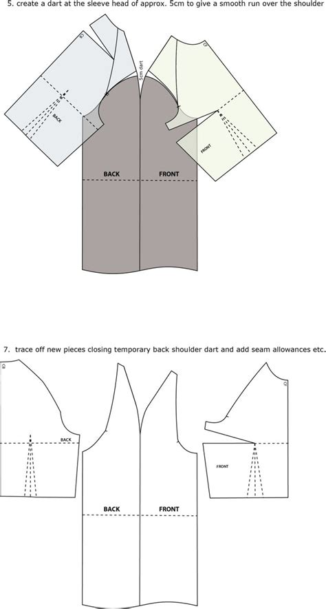 pattern making introduction introduction to pattern cutting raglan sleeve sleeve