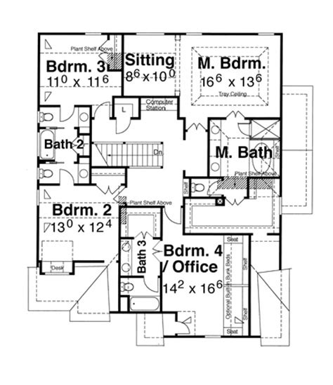 devonshire floor plan devonshire c 5829 4 bedrooms and 3 baths the house