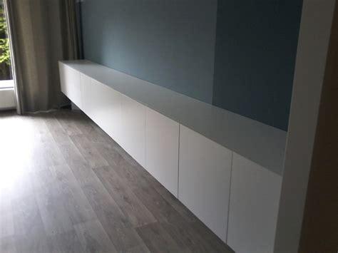 tv meubel hoogglans wit hangend ikea good zwevend dressoir meter met touch deurtjes with