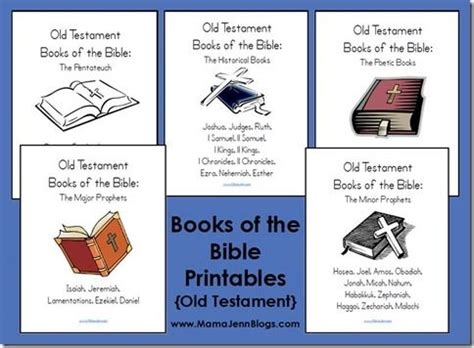 Testament Books Of The Bible Worksheet by Testament Books Of Bible Printables