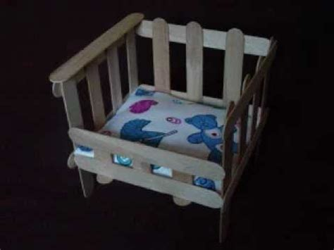 Egg Baby Crib by Easy Arts And Crafts Popsicle Crib
