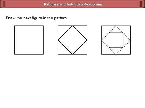 pattern sequence test patterns geometry 1 1