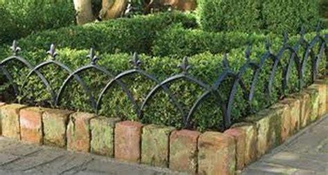 Garden Border Fence Ideas Garden Border Fence A Element With Protection