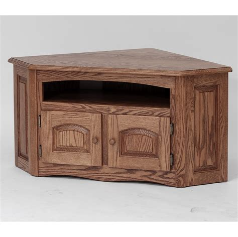 country style tv stands solid oak country style corner tv stand cabinet 41