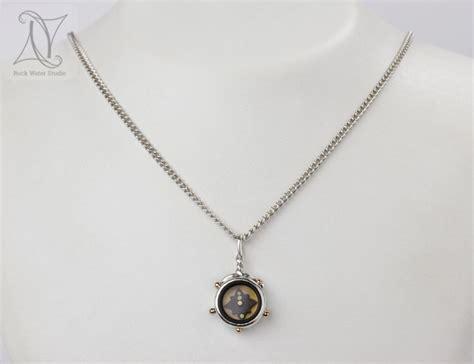 Compass Necklace 5 elements compass necklace