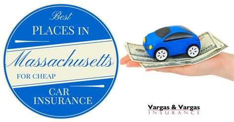 Best Places in Massachusetts for Cheap Car Insurance