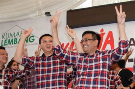 ahok election second round election ahok djarot must take another leave