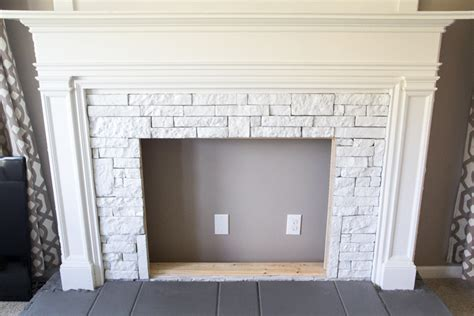 fireplace faux diy faux fireplace updated bless er house