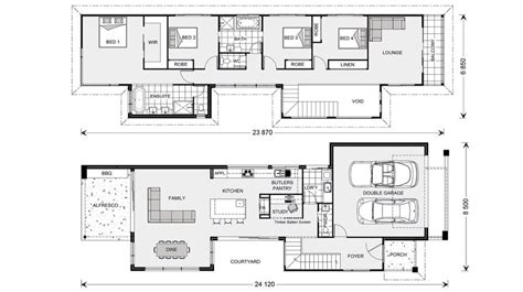 1000 images about narrow block plans on