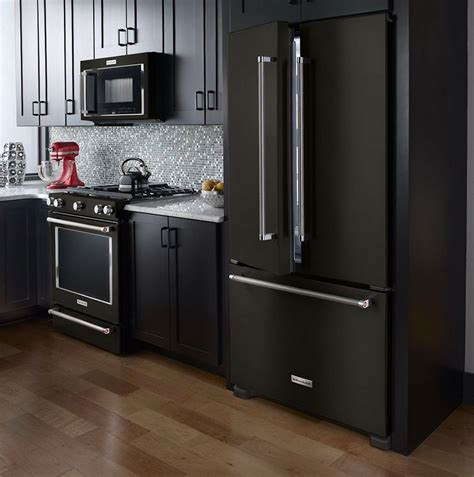 black and brown kitchen cabinets dark brown kitchen cabinets with black appliances home