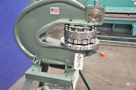 brand  tin knocker rotex style hand turret punch