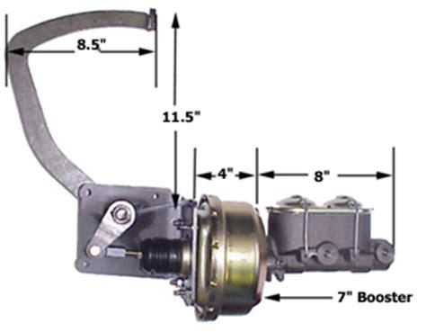 ford truck boostermasterbracketpedal  floor masterpower brakes bm