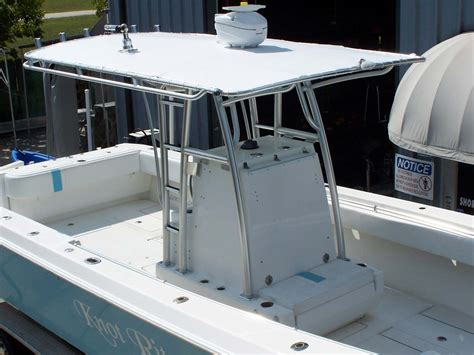 boat t top plans custom marine t tops for center consoles by action welding
