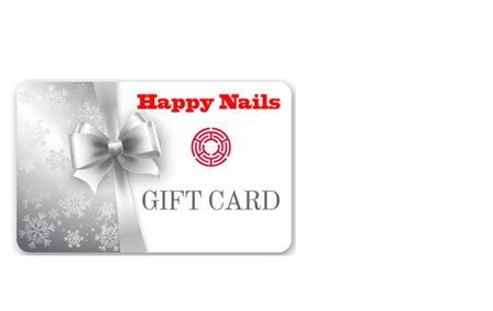 Happy Nails Gift Card - silver gift card by happy nails of yakima crop wattley discus