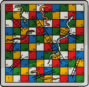 the snakes and ladders shetall says