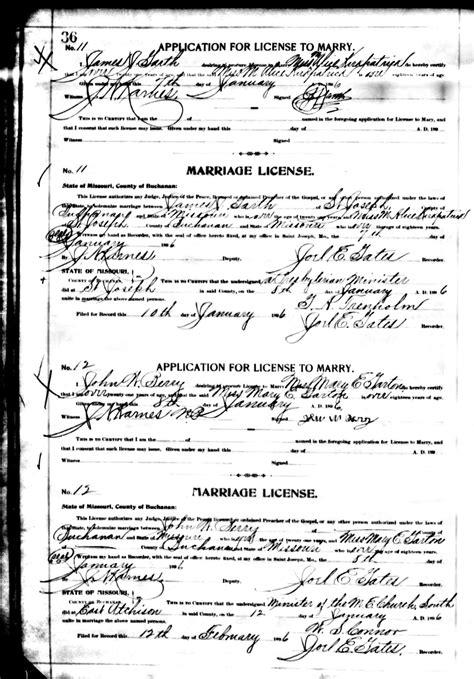 Missouri Marriage Records 1805 2002 Garton
