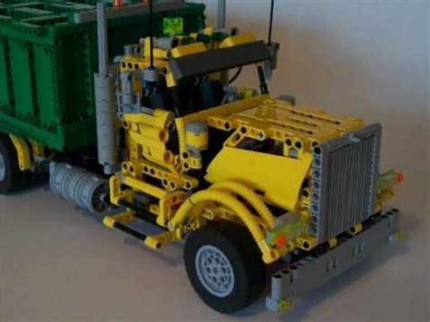 lego technic moc garbage truck  lucaslegorio chile