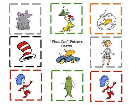 search results for free downloadable dr seuss templates