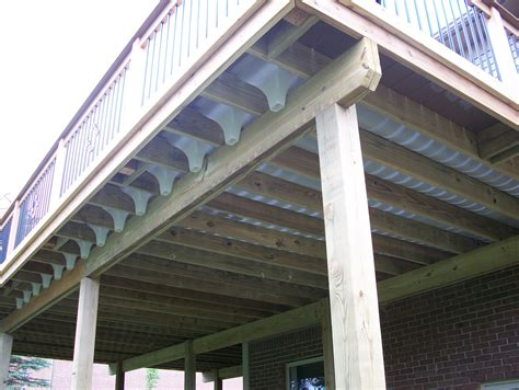 Diy Deck Drainage System by Deck Drainage Systems Home Design Ideas