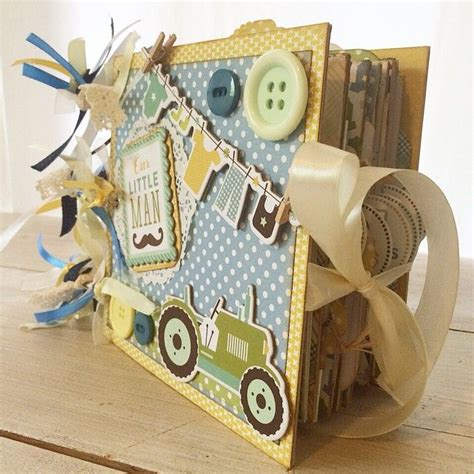 Handmade Baby Photo Albums - 25 best ideas about baby mini album on mini