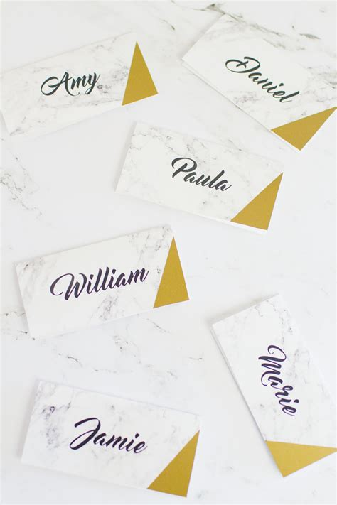 do you put names on wedding place cards free printable place names bespoke wedding