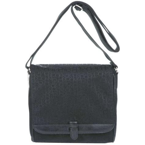 Ck Messenger ck by calvin klein logo messenger bag black