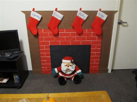 How To Make A Chimney Out Of Paper - paper fireplace my crafts