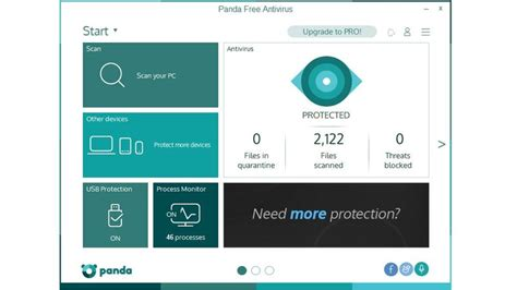 best free pc antivirus panda free antivirus 2016 review pc advisor