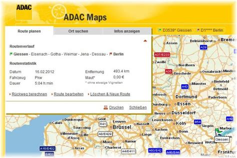 Motorrad Tourenplaner Download Freeware by Adac Maps Download Freeware De