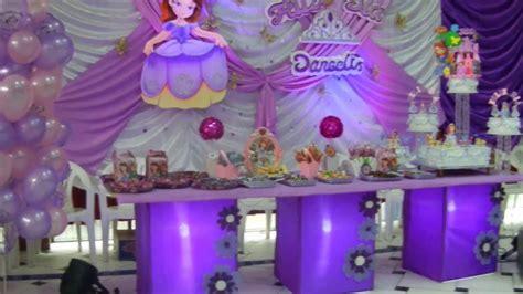 cumplea 241 os decorado de princesa sof 237 a tips de madre decoracion de princesa sofa decoracion princesa sofia 2