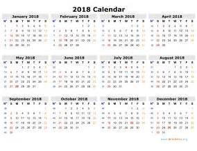 calendar template with holidays free 2018 calendar in printable format blank templates