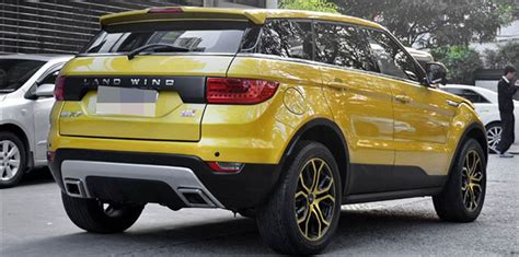 Land Wind X7 Given Go Ahead For Sale Evoque Copying
