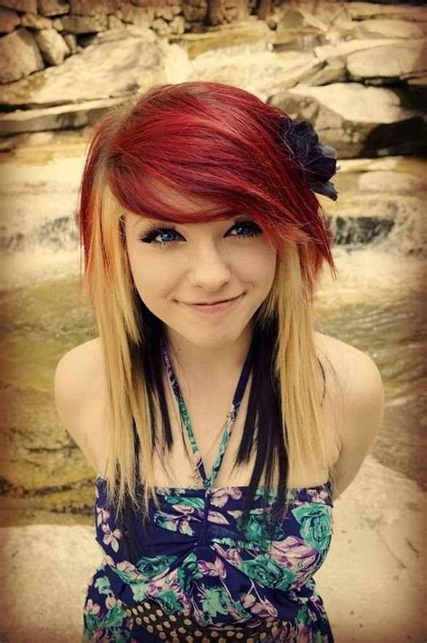 emo indie hairstyles 8 easy hairstyles for long thick hair to make you want